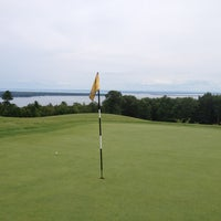 Photo taken at Apostle Highlands Golf Course by Drew B. on 8/14/2012