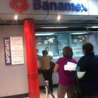 Photo taken at Banamex by Enrique on 3/23/2012