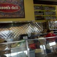 Photo taken at Jason's Deli by Tomonori I. on 1/29/2012