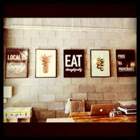 Photo taken at Sourced Grocer by Jules on 7/10/2011