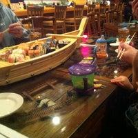Photo taken at Sushi Thai by Jenny G. on 1/21/2012