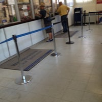 Photo taken at US Post Office - Steinway Station by Luisana S. on 8/3/2012