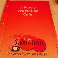Photo taken at Cafe Salivation by Joni S. on 5/25/2012