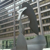 Photo taken at Daley Plaza Picasso by Lorena on 8/27/2011