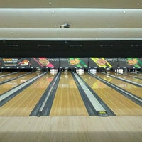 Photo taken at AMF Southshore Lanes by Ian M. on 7/1/2012