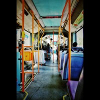 Photo taken at SMRT Buses: Bus 190 by Wolfgang J. Pereira on 5/16/2012