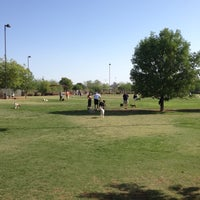 Photo taken at Chaparral Dog Park by Steve M. on 5/26/2012