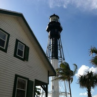 Photo taken at Hillsboro Inlet Lighthouse by Jason D. on 3/25/2012
