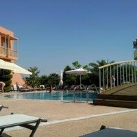 Photo taken at Ambassador Hotel Thessaloniki by Kostas D. on 6/9/2012