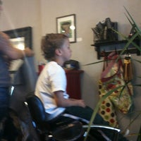Photo taken at Rouge Roots Salon by Matthew P. on 10/15/2011
