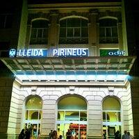 Photo taken at RENFE Estació Lleida - Pirineus by Neus A. on 9/25/2011