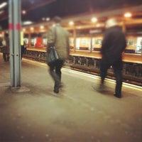 Photo taken at Upminster Railway Station (UPM) by Garrett B. on 11/30/2011