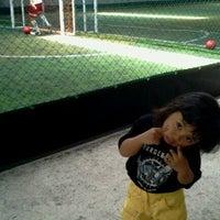 Photo taken at TATA Futsal by shinta p. on 9/25/2011