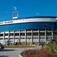 Photo taken at Estadio Vicente Calderón by Jorge A. on 12/18/2011