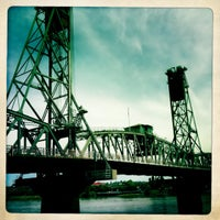Photo taken at Hawthorne Bridge by Susan C. on 6/11/2012