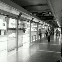 Photo taken at MIO Estacion Manzana del Saber by Poloko P. on 2/5/2012