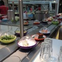 Photo taken at YO! Sushi by Ana P. on 8/30/2012
