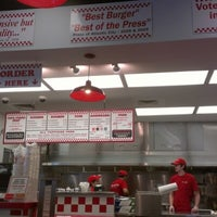 Photo taken at Five Guys by John J. on 8/10/2012