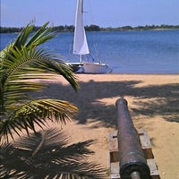 Photo taken at Ghana sailing club by KWB on 9/8/2012