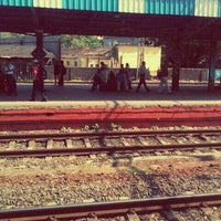 Photo taken at Lower Parel Railway Station by Nikhil S. on 10/25/2011