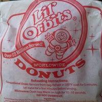 Photo taken at Lil' Orbits Mini-Donuts by Rj M. on 1/9/2012