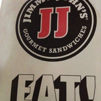 Photo taken at Jimmy John's by Mark V. on 9/1/2012