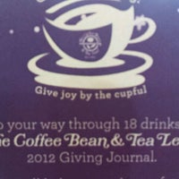 Photo taken at The Coffee Bean & Tea Leaf by Rc O. on 1/22/2012