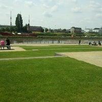 Photo taken at Rasen-Terassen an der Weser by Jana G. on 7/4/2012
