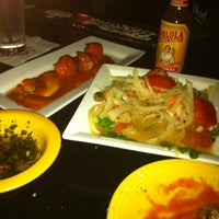 Photo taken at Ceviche Tapas Bar & Restaurant by Natalie N. on 4/23/2012