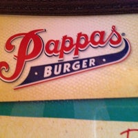 Photo taken at Pappas Burger by John R. on 11/2/2011