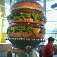 Photo taken at Big Mac Museum Restaurant (McDonald's) by Angela M. on 8/27/2011