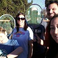 Photo taken at Mar Vista Park Tennis Courts by Irie on 1/1/2012