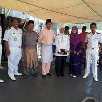 Photo taken at Royal Malaysian Navy, Sepanggar by helmi a. on 8/19/2012