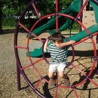 Photo taken at Mason Park Playground by Sam H. on 6/6/2012