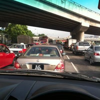 Photo taken at Chan Sow Lin Traffic Light by Wan A. on 5/2/2012