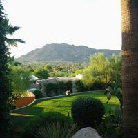Photo taken at Sanctuary Resort on Camelback by Jamie R. on 7/19/2012