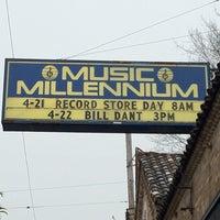 Photo taken at Music Millennium by Joel W. on 4/21/2012