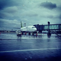 Photo taken at Terminal D by Bea T. on 9/1/2012