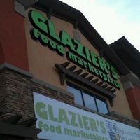 Photo taken at Glazier's Food Marketplace by Delain R. on 1/29/2012