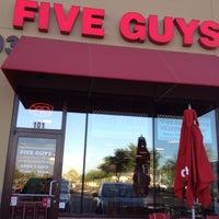 Photo taken at Five Guys by SplatteredMedia.com on 4/27/2012