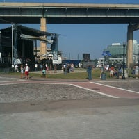 Photo taken at Thursday at Canalside by Andrea C. on 7/21/2011