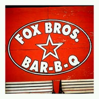 Photo taken at Fox Bros. Bar-B-Q by Josh O. on 10/4/2011