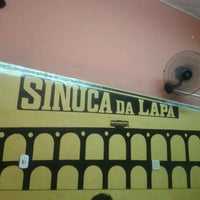Photo taken at Sinuca da Lapa by Andre L. on 6/23/2012
