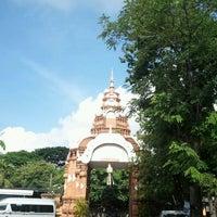 Photo taken at Wat Chai Mongkol by Tammai N. on 7/12/2011