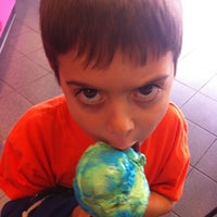 Photo taken at MaggieMoo's Ice Cream and Treatery by Paola P. on 4/29/2011