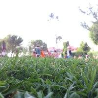 "Photo taken at Piscina ""El Cigarral"" by David S. on 7/19/2012"