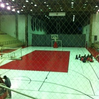 Photo taken at Interno Futsal G1-SPFC by Jihad M. on 5/14/2012
