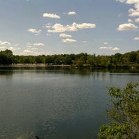 Photo taken at Menomonee Park by Cassandra P. on 8/21/2012