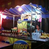 Photo taken at Abang & Adik Burger by OMnom on 12/23/2011