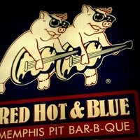 Photo taken at Red Hot & Blue  -  Barbecue, Burgers & Blues by Mark R. on 11/27/2011
